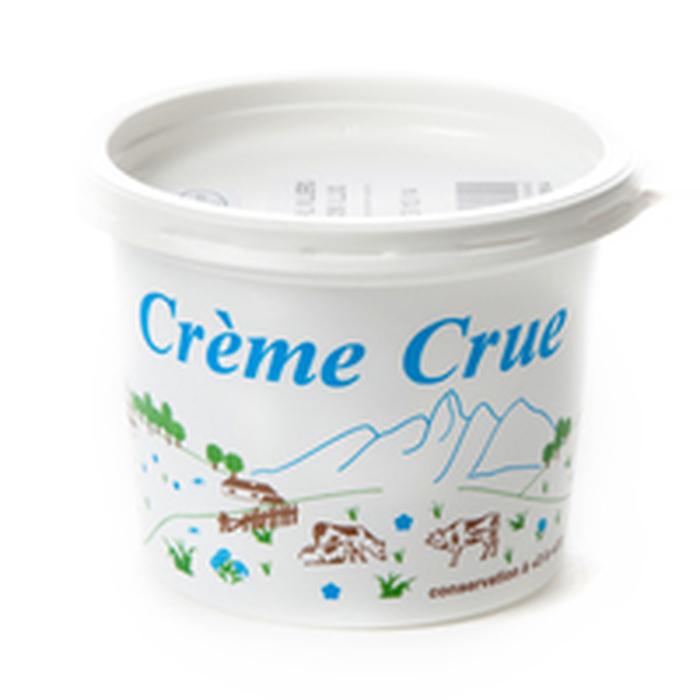 Crème crue fermière